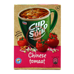 UNX CUP A SOUP CHINESE TOMAAT 3X18G